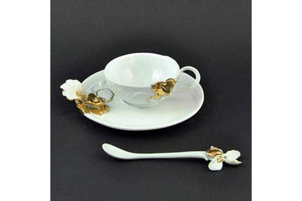Чайная пара Ирис. Коллекция Gift (фарфор; GAWO400601)