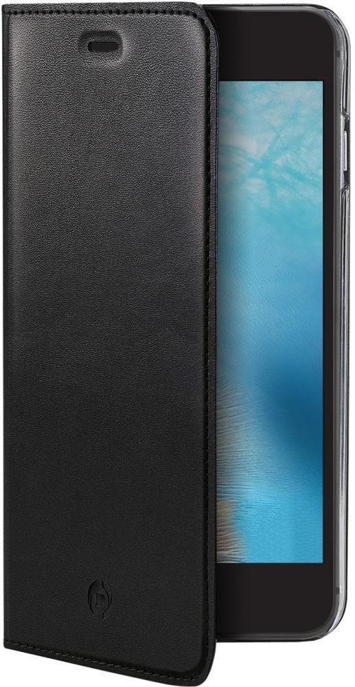 Чехол-книжка Celly Air Pelle для Apple iPhone 7/8 (черный)