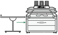 Ricoh многоцелевой укладчик копий Multi Stacker Unit Type 7140 (406305)
