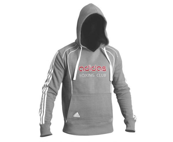 Толстовка с капюшоном (Худи) Hoody Sweat Boxing Club, серая Adidas