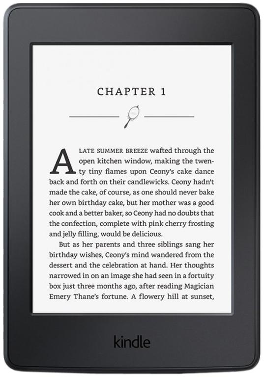 Электронная книга Amazon Kindle Paperwhite 2016 SO (черная)