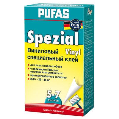 PUFAS Обойный клей EURO 3000 Специальный виниловый