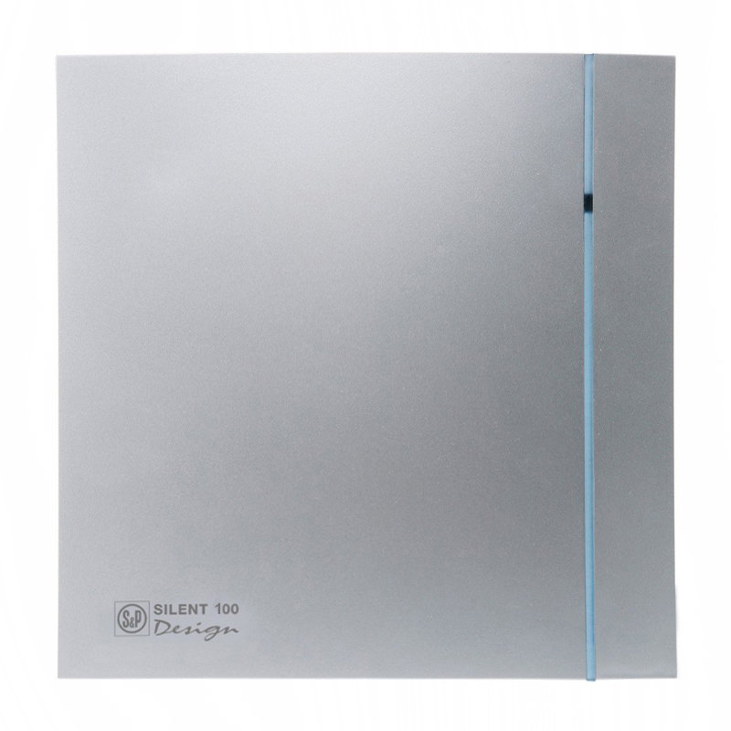Накладной вентилятор Soler Palau SILENT-100 CRZ SILVER DESIGN 3C
