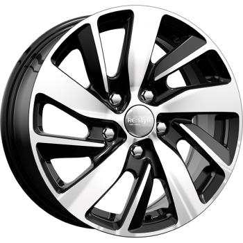 Колесные литые диски КиК (K&K) КС741 (ZV Ceed) 6.5x16 5x114.3 ET50 D67.1 алмаз черный (67974)