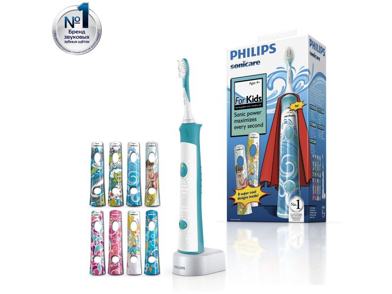 Электрическая зубная щетка для детей Philips ForKids HX6311