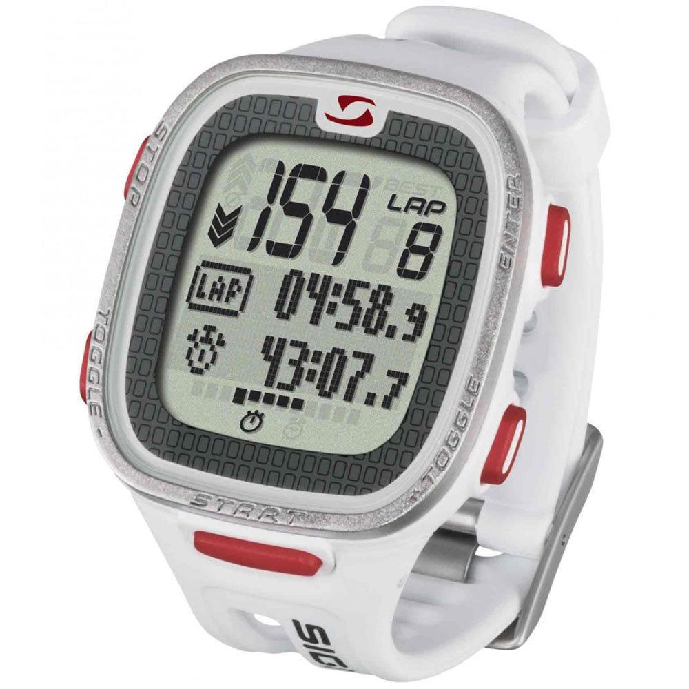 Часы спортивные SIGMA PC-26.14 WHITE, 15 функц пульсометр