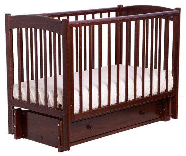 Детская кроватка Кубаньлесстрой Кубаночка-3 БИ 39.3