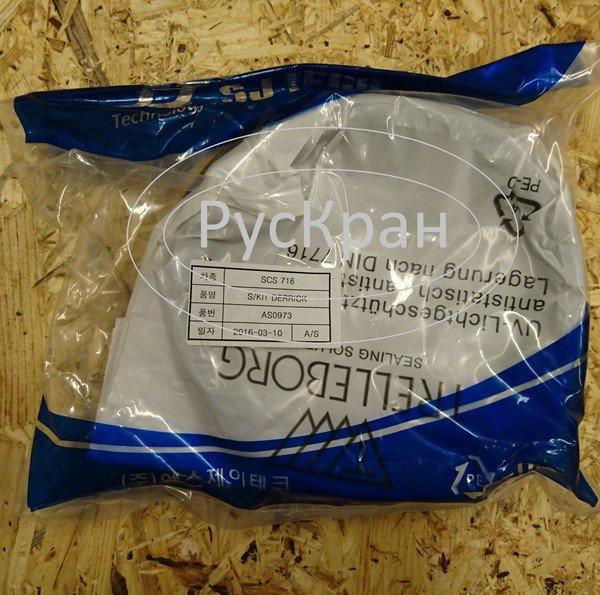 Ремкомплект гидроцилиндра подъема стрелы Soosan SCS736, Soosan SCS736L2