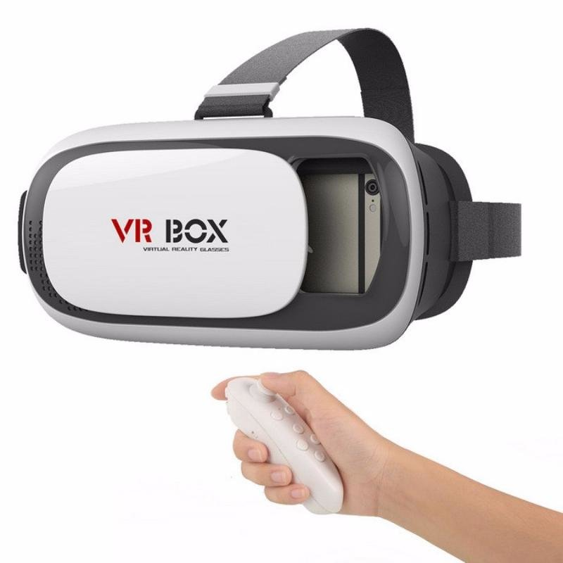 VR Box 2.0 c пультом - виртуальные очки - шлем