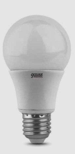 Лампа gauss E27 10Вт 2700K