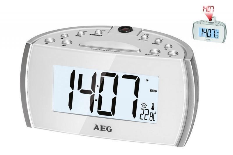 Часы с радиоприёмником AEG MRC 4119 P