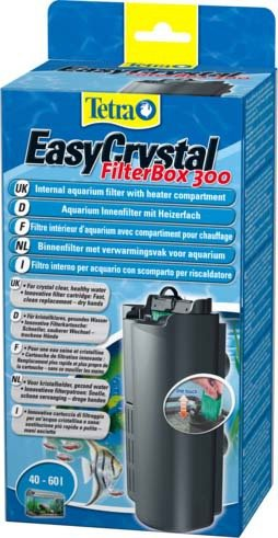 """Внутренний фильтр Tetra """"EasyCrystal 300 Filter Box"""" для аквариумов 40-60 л"""