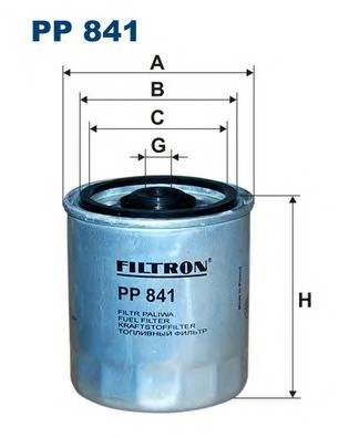 Топливный фильтр Filtron PP841