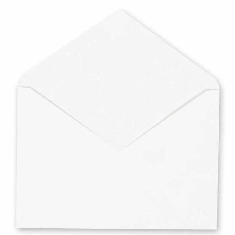 Конверты белые C6 (114×162, 1000шт/кор)