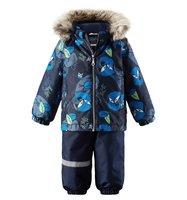 Комплект куртка/брюки Lassie by Reima цвет: синий, для малышей, размер 74