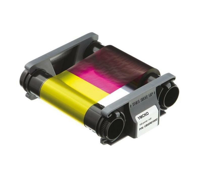 Цветная лента на 100 отпечатков - Evolis (CBGR0100C)