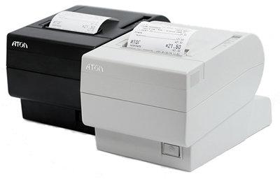 Принтер документов FPrint-02 для ЕНВД. Белый. RS+USB.