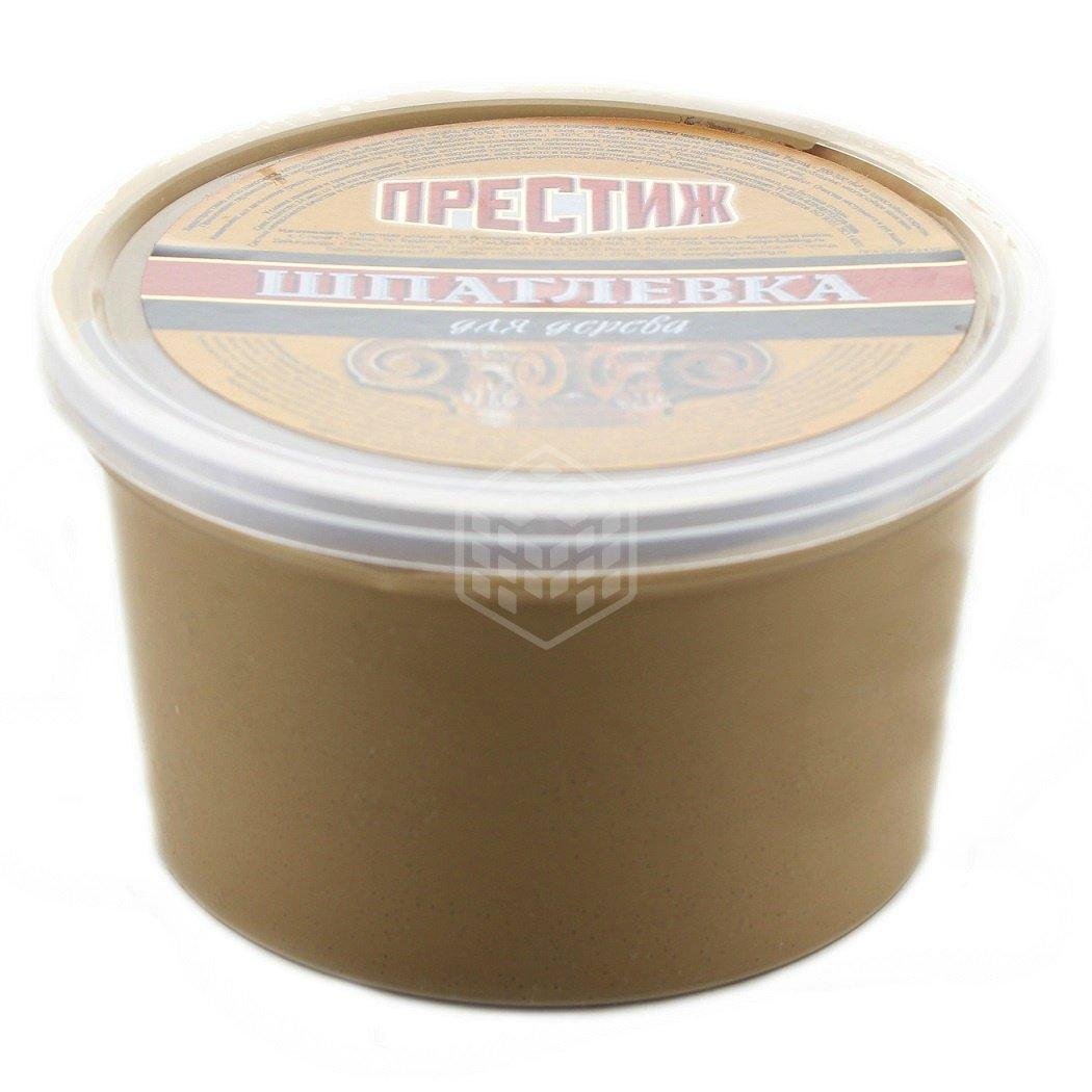 Шпатлёвка по дереву Престиж, орех, 0,3 кг