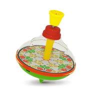 Юла малая прозрачная, игрушка Stellar 01342