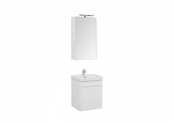 Комплект мебели для ванной Aquanet София 50 белый