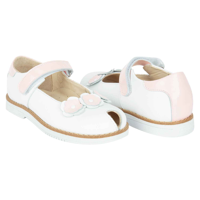 201fe19ee Дочки и Сыночки. В магазин · Туфли Tapiboo Лилия, цвет: белый/розовый, для  девочек, размер 26
