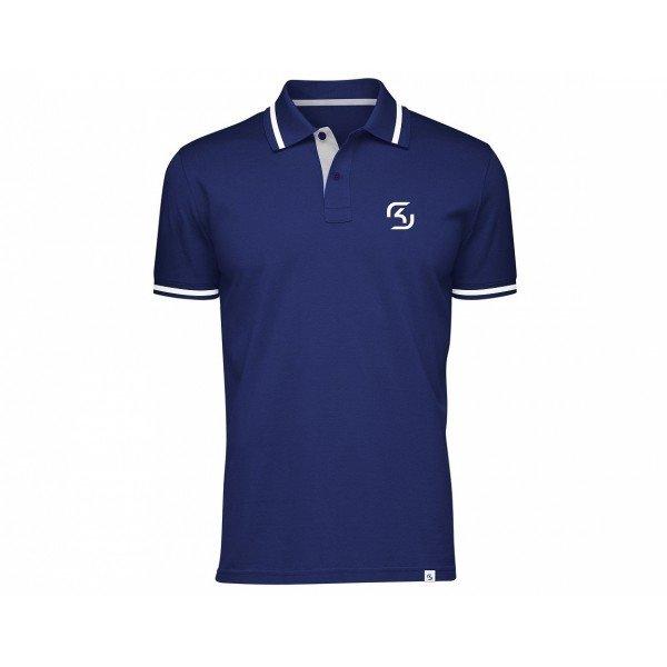 Футболка SK Gaming Polo Shirt Blue