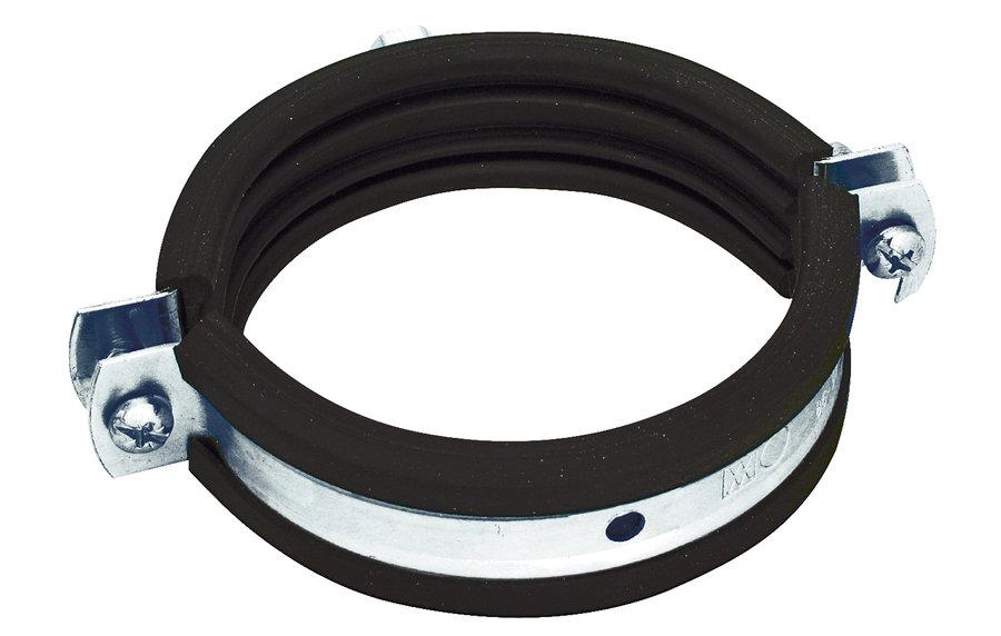 Airone Хомут с резиновым профилем для воздуховода D 160 мм