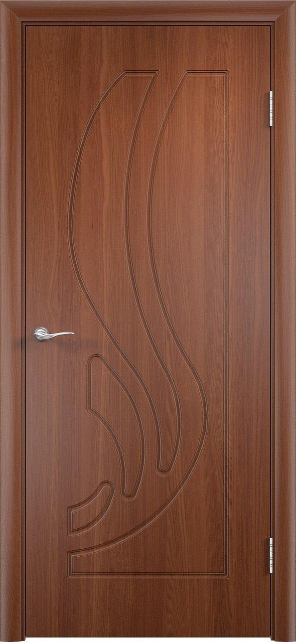 Межкомнатная дверь Верда Лиана ДГ (Итальянский орех)