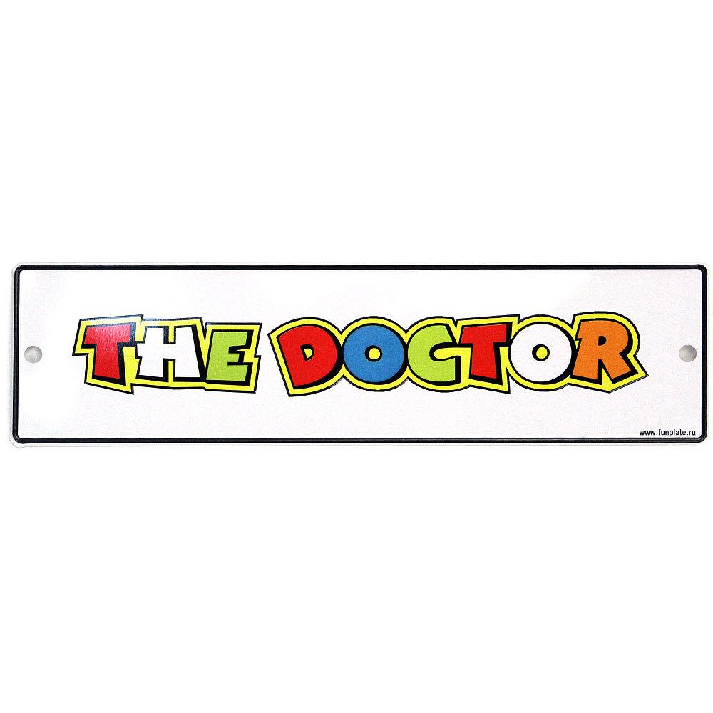Табличка - The Doctor (70х260)