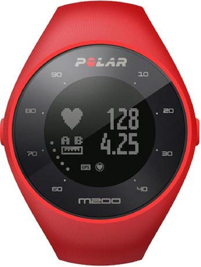 Часы-пульсометр Polar M200 M/L красный [90061217]