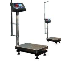 Мидл Весы медицинские «Здоровье» до 300 кг платформа 450х600 мм с ростомером