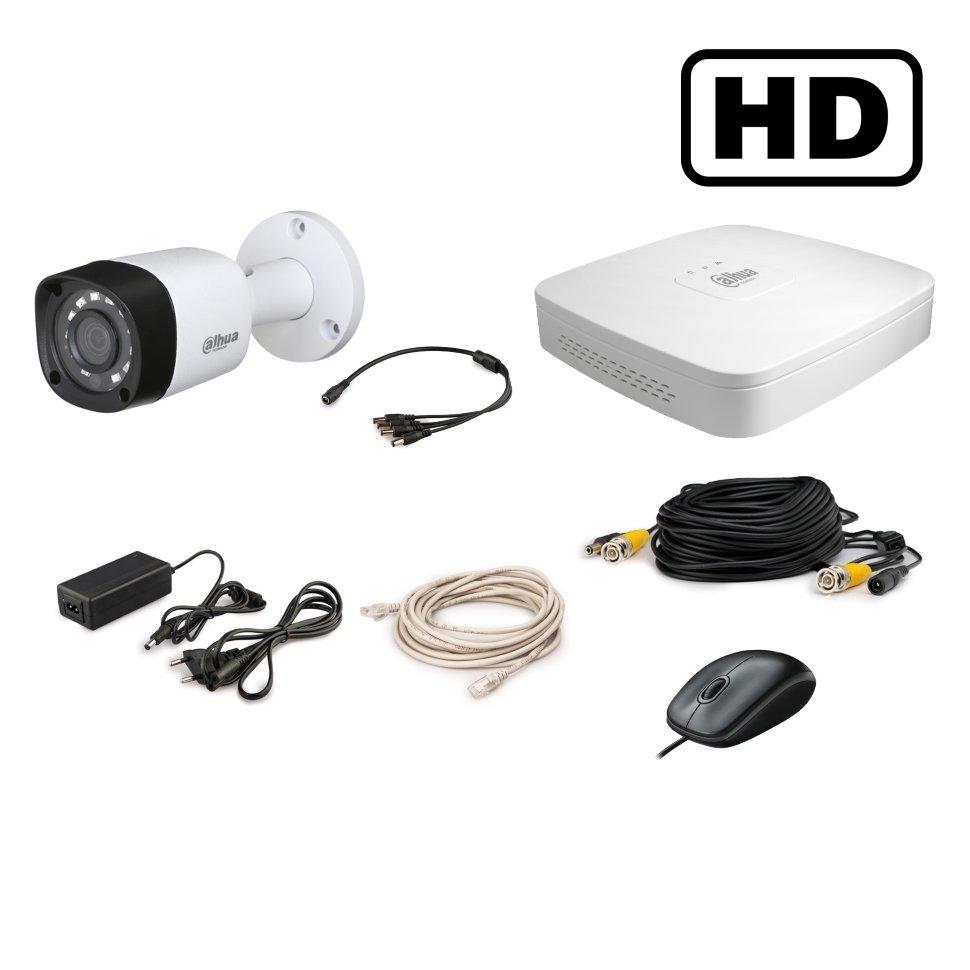 Комплект видеонаблюдения на улицу 1 камера HD