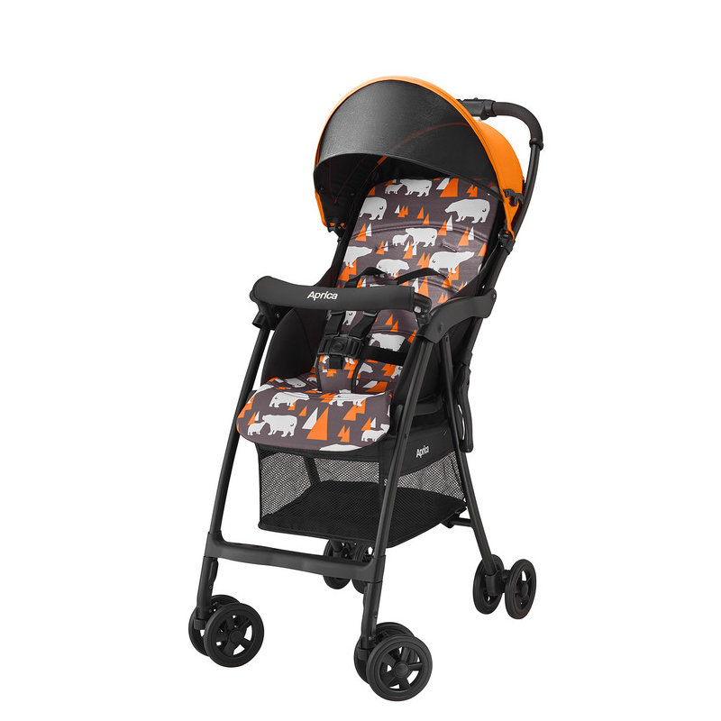 Коляска прогулочная Aprica Magical Air (Априка) (арт 92545 Цвет Оранжевый новый цвет 2017)