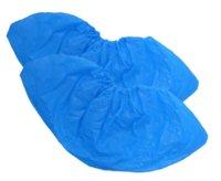 Бахилы особопрочные, 100 шт. в упаковке (30 мкм), двойная резинка