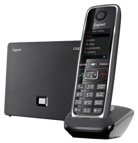 VoIP-телефон Gigaset C530A IP black