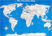 Карта-план покорения мира в тубусе
