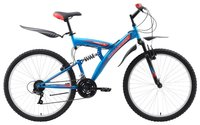 Велосипед для взрослых Challenger Mission FS 26 (2018) 26 черный/синий/белый