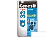 Затирка CERESIT CE33 белая 2кг