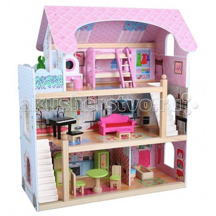 Edufun Кукольный дом с мебелью EF4110
