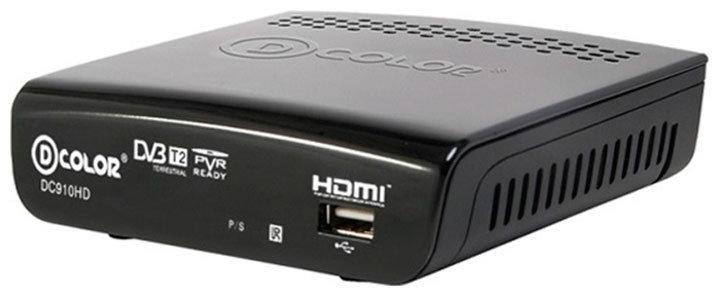 Цифровой телевизионный ресивер D-Color DC 910 HD