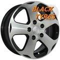 Диск колесный Replica Ki53 6x15/5x114.3 D67.1 ET44 BKF - фото 1