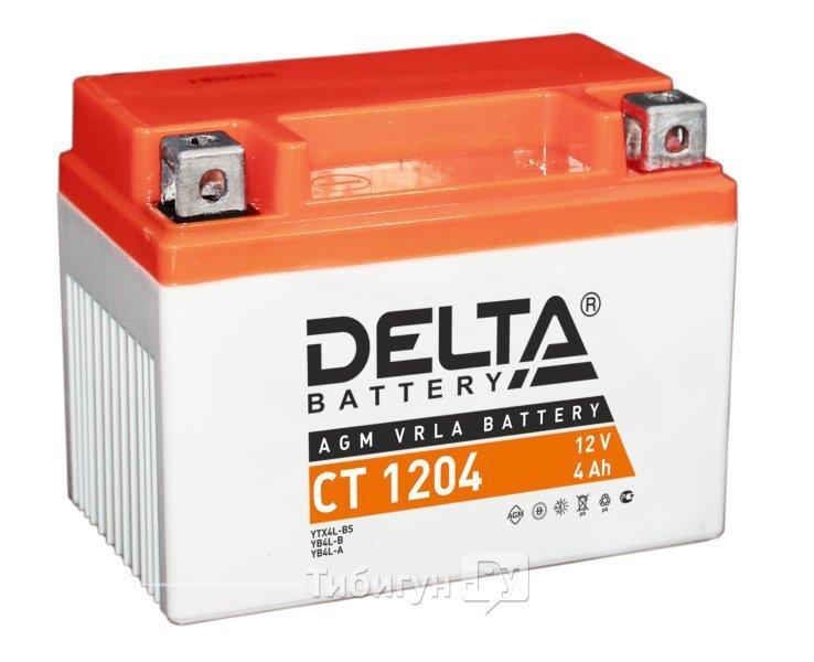 Delta Стартерный аккумулятор 12V 4Ah