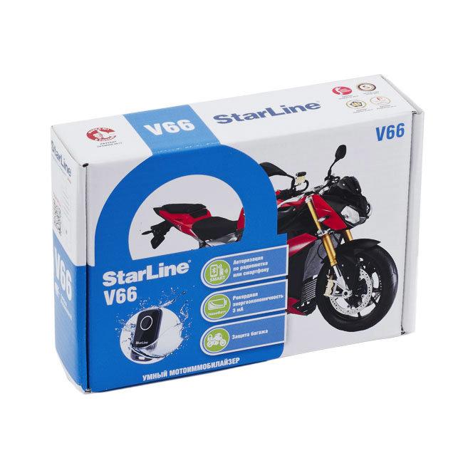 Сигнализации Сигнализация для мототехники StarLine MOTO V66