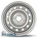 Диск BANTAJ BJ1020 6x16 4/100 ET52 D54,1 серый - фото 1