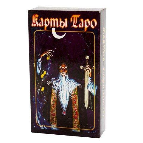 Гадальные карты Таро Черное