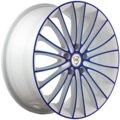 Диски R16 5x114,3 6,5J ET45 D60,1 NZ Wheels F-49 W+BL - фото 1