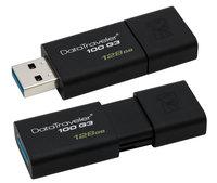 USB Flash Drive 128Gb - Kingston FlashDrive Data Traveler 100 G3 DT100G3/128GB