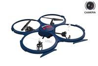 Квадрокоптеры с камерой UdiRC Радиоуправляемый квадрокоптер НЛО U818A-1 с HD видеокамерой - U818A-1