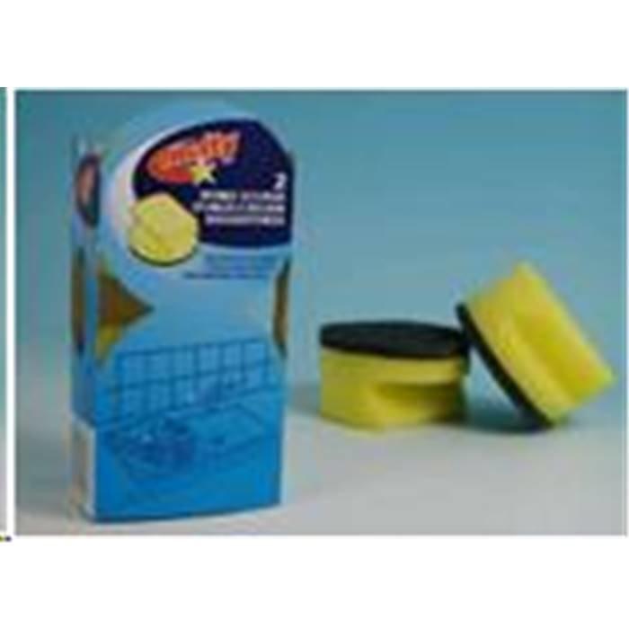 Товар для уборки Multy 160226(Губка Чистящая Круглая 2 Шт)