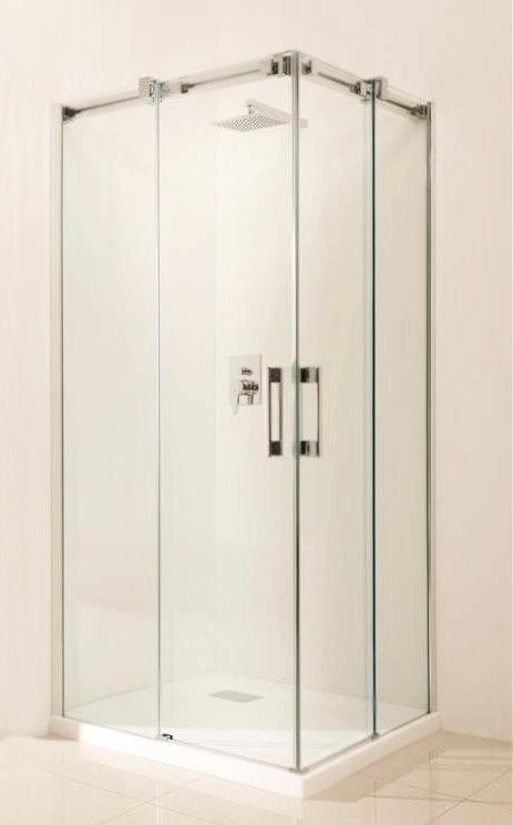 Дверь для душевого уголка Radaway Espera KDD 90x200 левая профиль хром, стекло прозрачное, петли слева